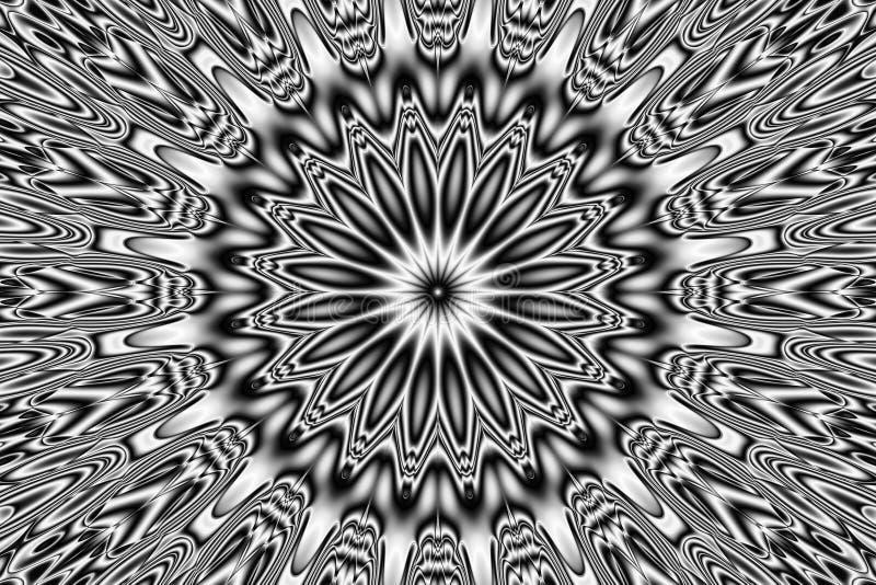 Abstract pattern - kaleidoscopic pattern. Image of the abstract pattern - kaleidoscopic pattern royalty free illustration