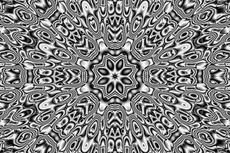 Abstract pattern - kaleidoscopic pattern. Image of the abstract pattern - kaleidoscopic pattern vector illustration