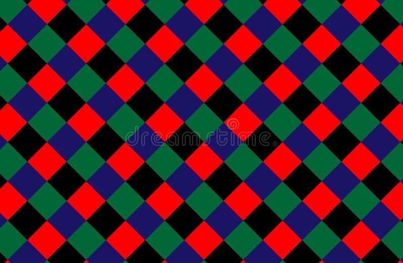 abstract pattern retro Σύσταση από το ρόμβο/τα τετράγωνα επίσης corel σύρετε το διάνυσμα απεικόνισης διανυσματική απεικόνιση