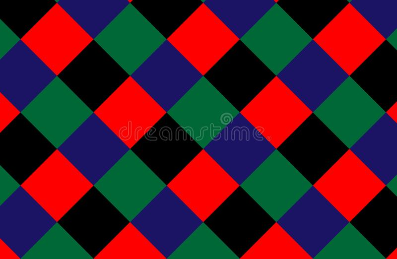 abstract pattern retro Σύσταση από το ρόμβο/τα τετράγωνα επίσης corel σύρετε το διάνυσμα απεικόνισης απεικόνιση αποθεμάτων