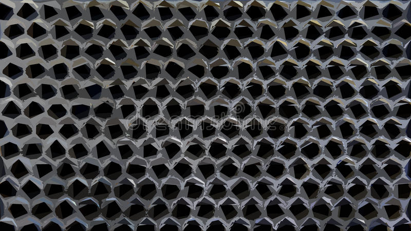 Download Abstract Pattern stock illustration. Image of honeycomb - 34124833