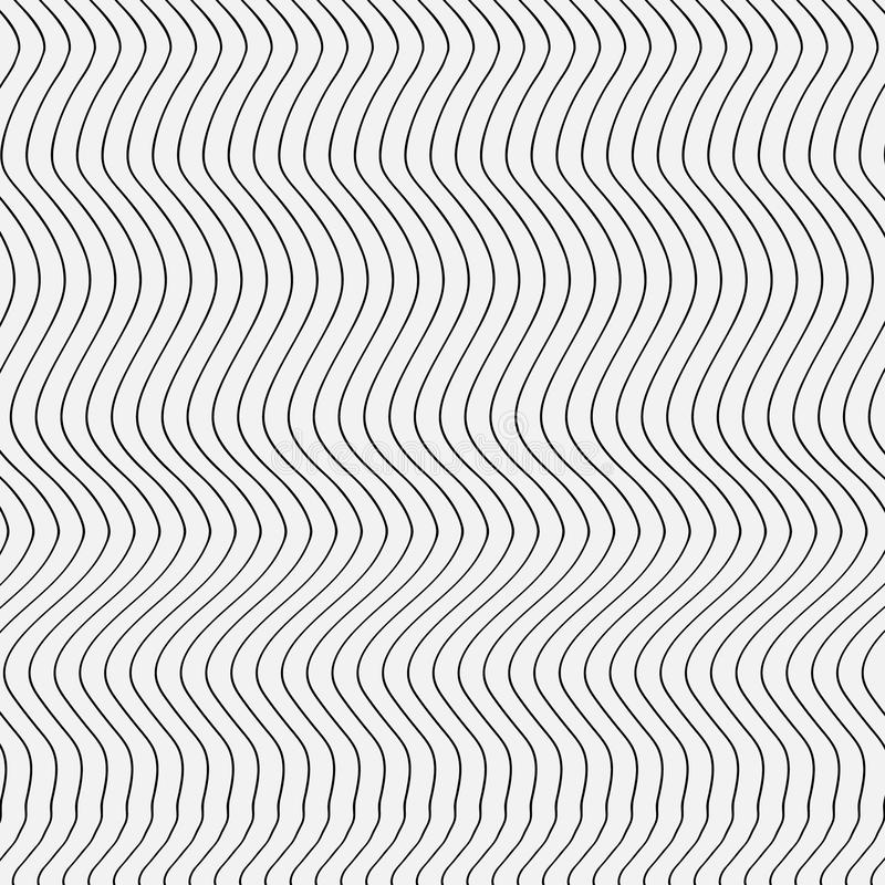 Abstract pattern stripes royalty free illustration