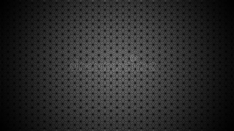 Abstract pattern surface forming cubes, stars, hexagons royalty free stock photo