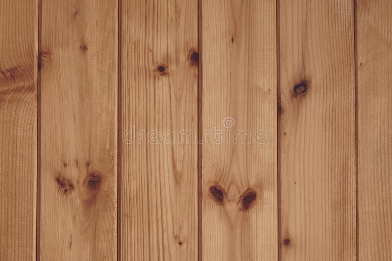 Abstract pattern on wood backdrop. Wooden texture board. Light brown plank wooden background. Brown pine wooden empty space. White royalty free stock photos