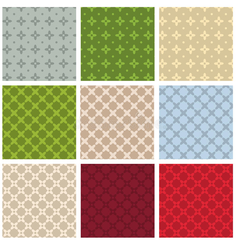 Abstract Patterns Royalty Free Stock Images