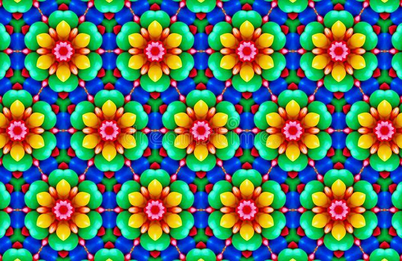 Abstract patterns background. Abstract colorful kaleidoscope patterns background wallpaper backdrop stock photo