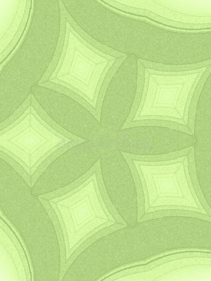 Abstract Patterns Light Green. A green grainy star pattern texture background in light colors stock images