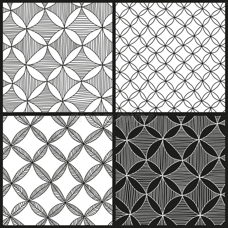 Download Abstract patterns set stock vector. Image of plant, decoration - 35733826