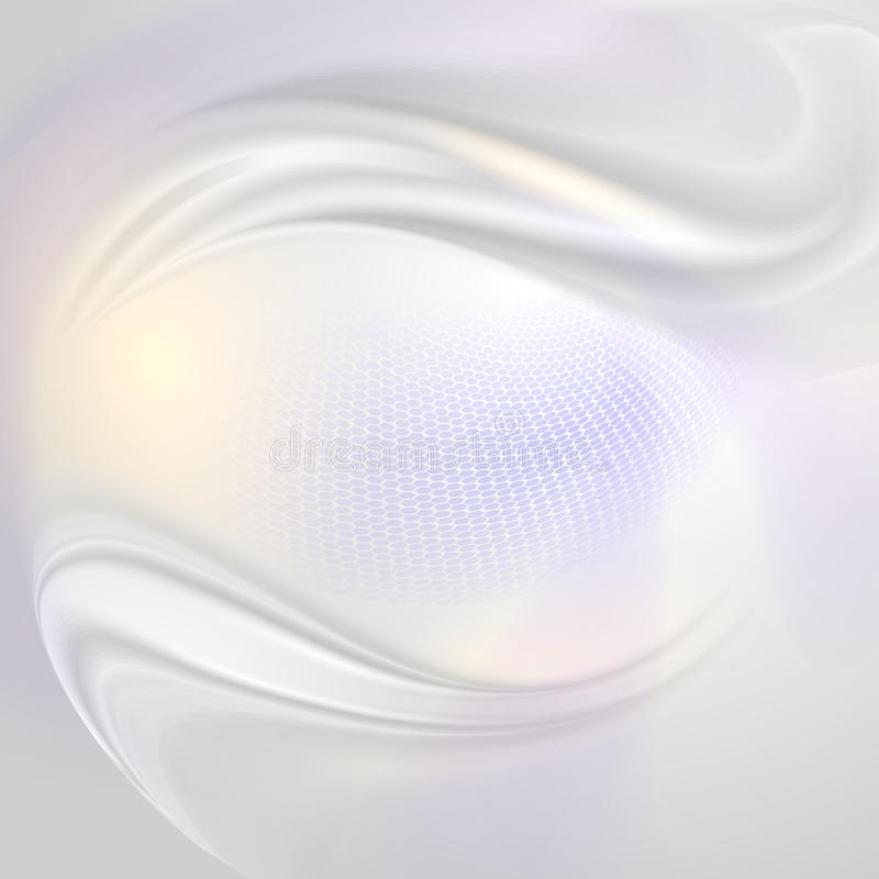 Abstract pearl background stock illustration