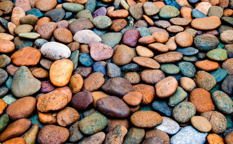 Abstract of pebble royalty free stock image
