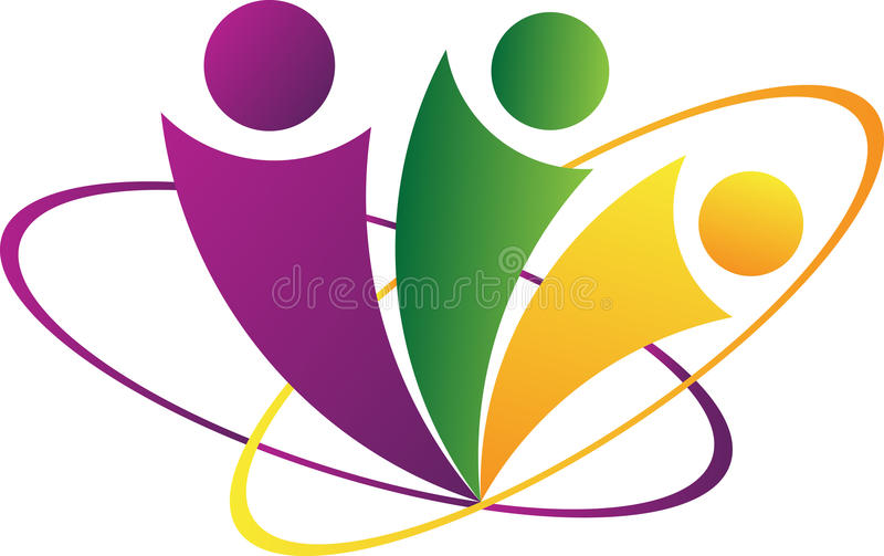 Abstract people vector illustration
