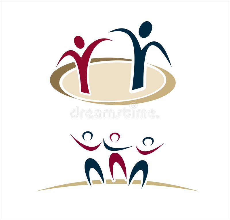 Free Abstract People Logos Stock Photography - 5743302