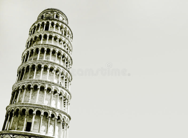 Download Abstract Photo Of The Leaning Tower Of Pisa Stock Image - Image: 38795425