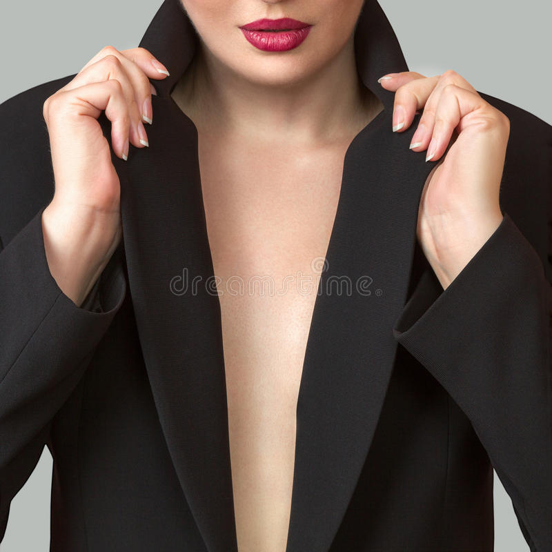Free Abstract Photo Of Female Decollete Royalty Free Stock Photos - 77149188