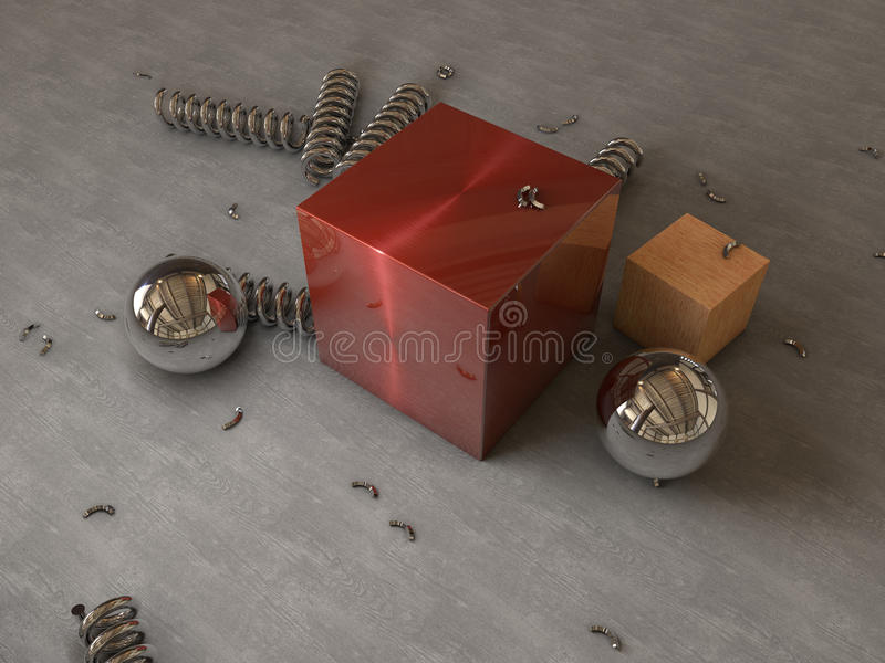 Download Abstract physical render stock illustration. Illustration of cinema - 26548793