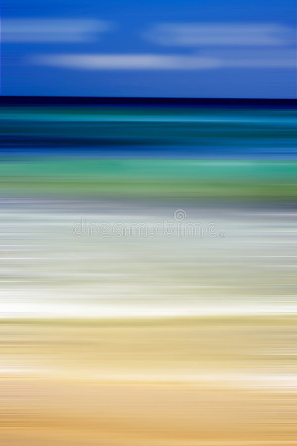 Abstract picture. Snap of sea edited by PC filter stock photo