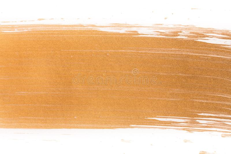 Abstract picture. Gold chrome background polished steel heavy stock image