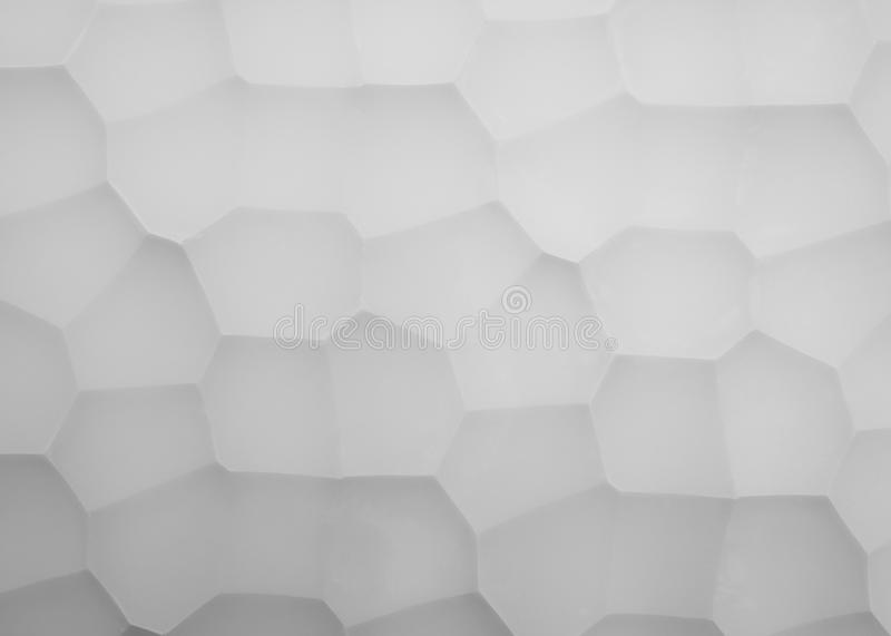 Abstract picture panels made of gypsum with geometry pattern. Photo stock photo