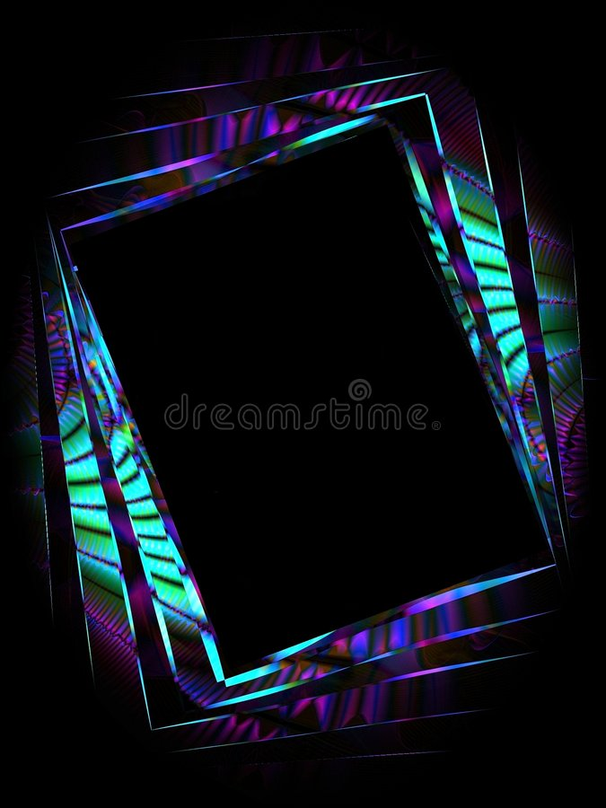 Abstract Picture Photo Frame 3 stock illustration