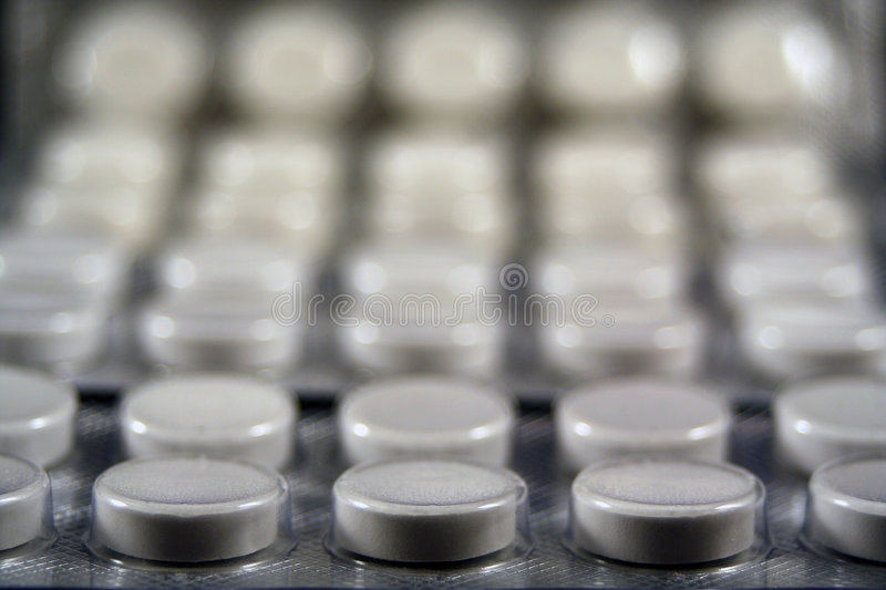 Abstract pills stock images
