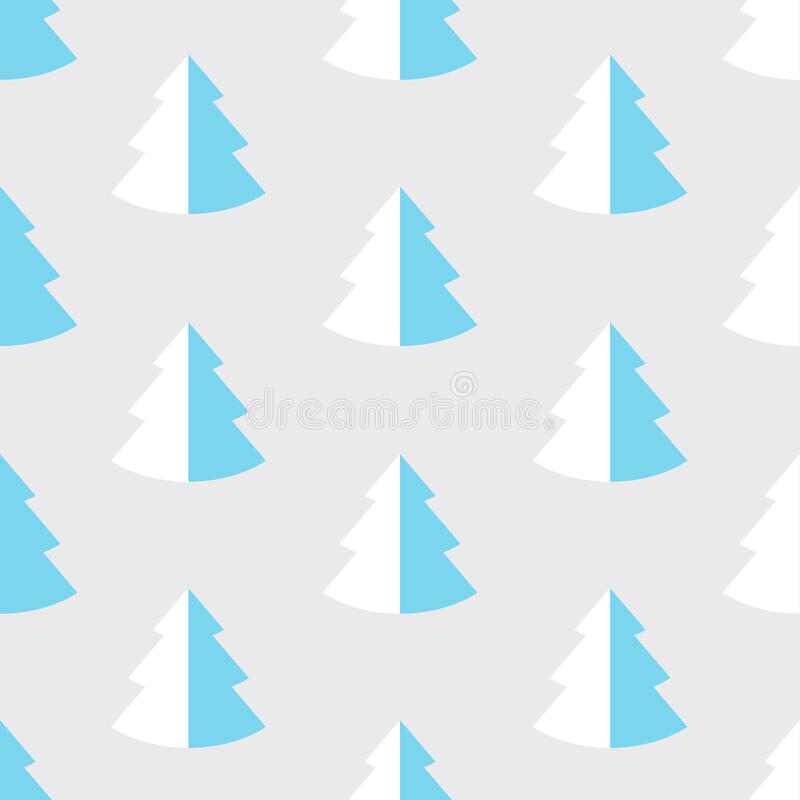 Abstract pine tre. stock illustration