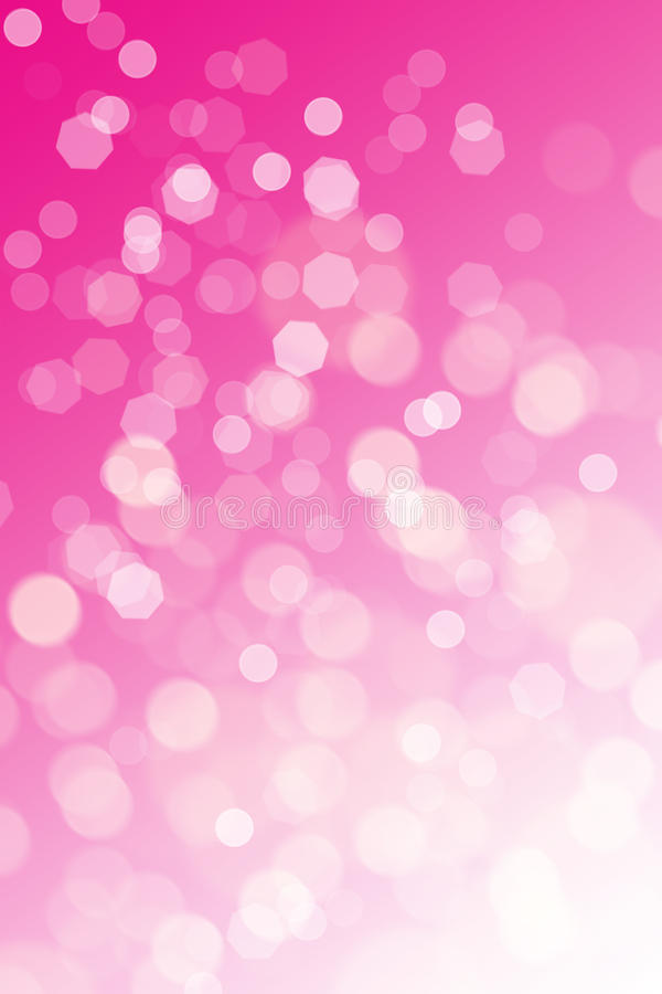 Abstract pink background. (bokeh effect