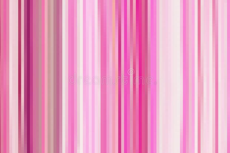 Abstract Pink and White Stripes Texture for Background vector illustration
