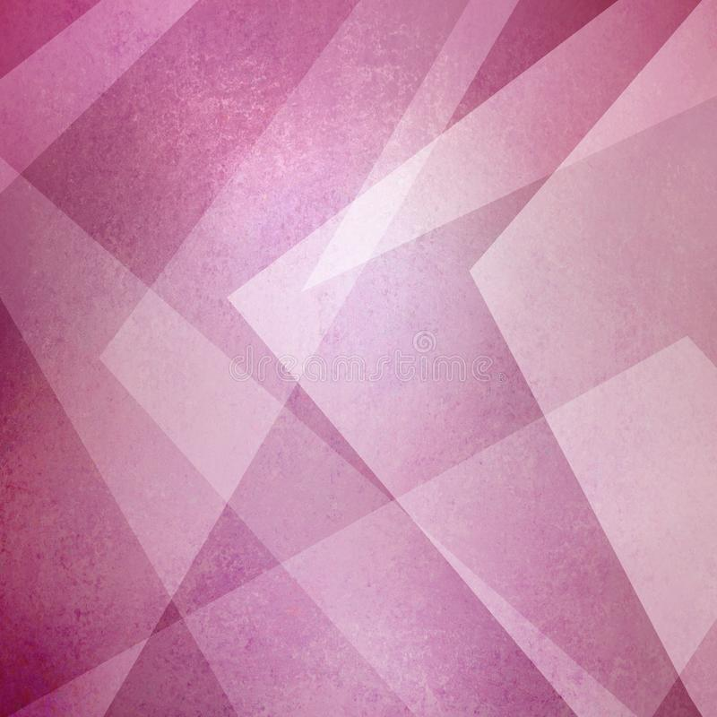 Abstract pink background, triangles and angled shapes layered line design element, faded texture design, geometric background. Angled shapes background vector illustration