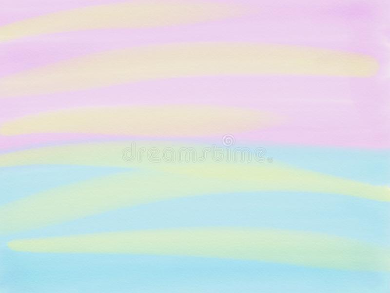 Abstract pink and blue background. raster illustration royalty free illustration