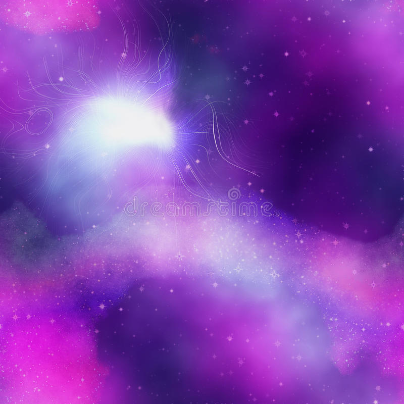 Abstract Pink, Blue And Purple Background Resembling Night ...