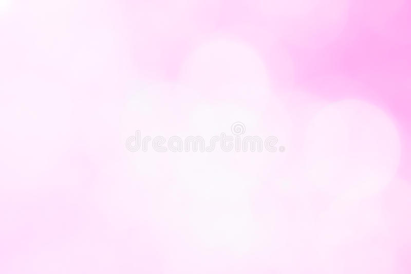 Abstract pink Bokeh Lights on gray background. vector illustration