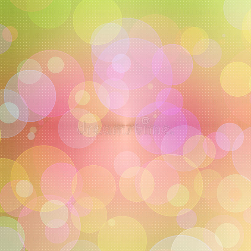 Download Abstract Pink Circle Background Stock Illustration - Image: 10354344