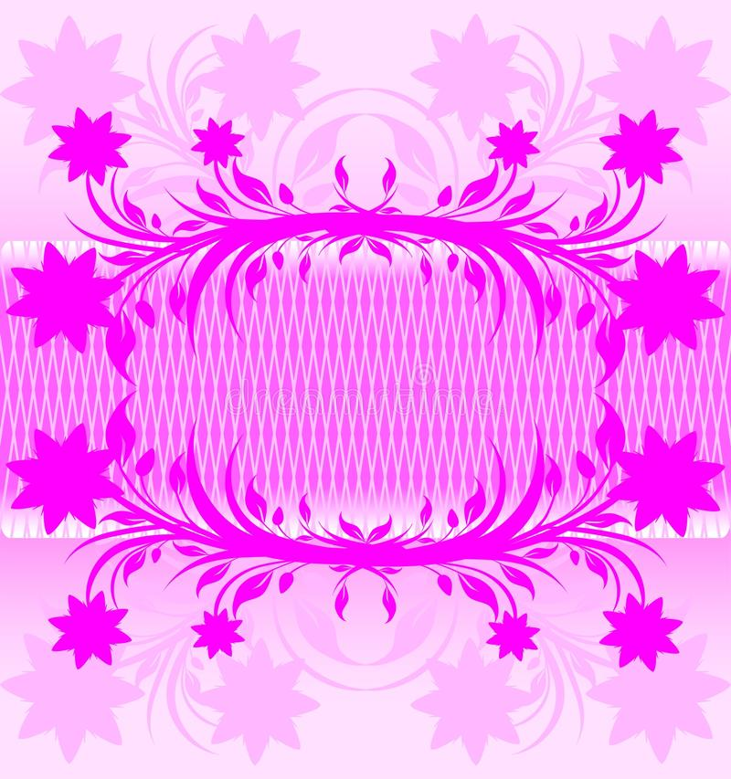 abstract pink floral background. royalty free stock photo