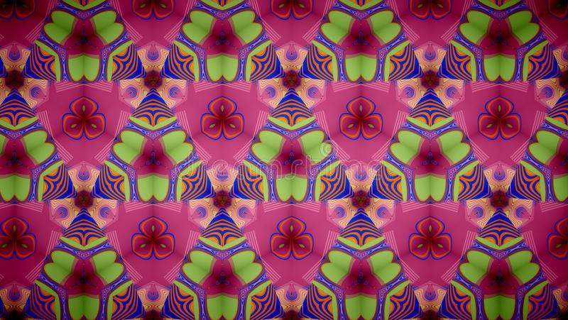 Abstract Pink flower pattern background. stock photo