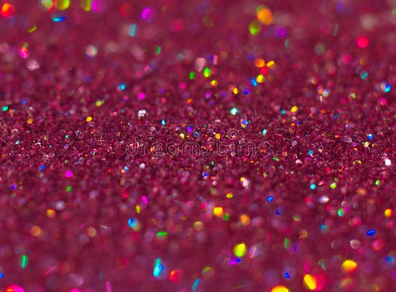 Abstract Pink glitter background with beautiful bokeh. Abstract Pink glitter background with beautiful bright sparkling bokeh stock photos