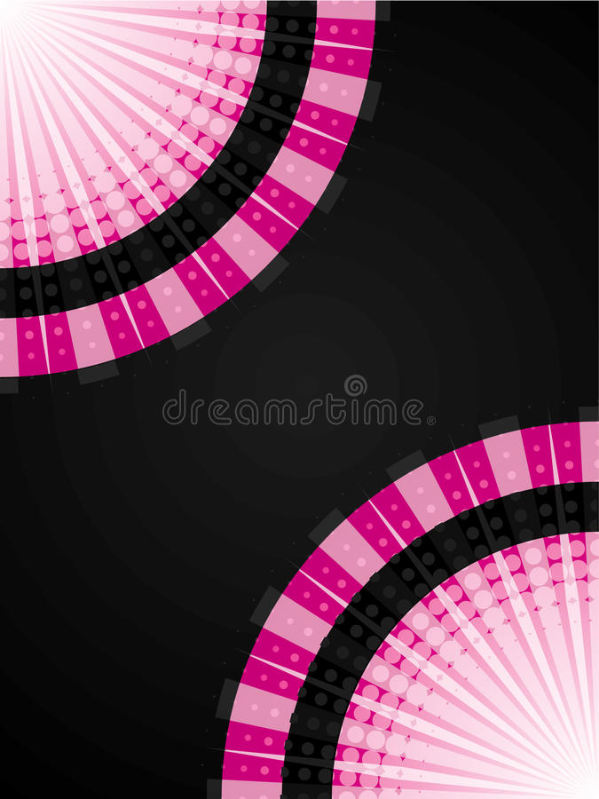 Download Abstract pink halftone stock vector. Illustration of modern - 16487179