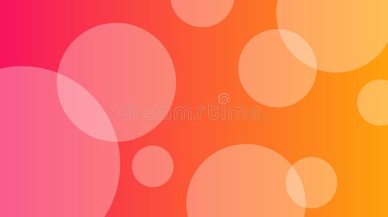 Abstract pink and orange background royalty free illustration