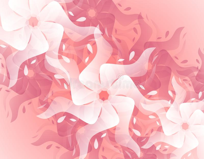 Abstract Pink Splash Flower Background stock image