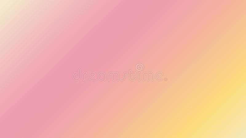 Abstract pink, teal, purple and yellow blur color gradient background for web, presentations and prints. stock images