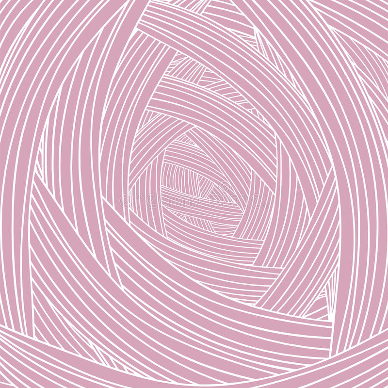 Abstract Pink Wave Background stock illustration