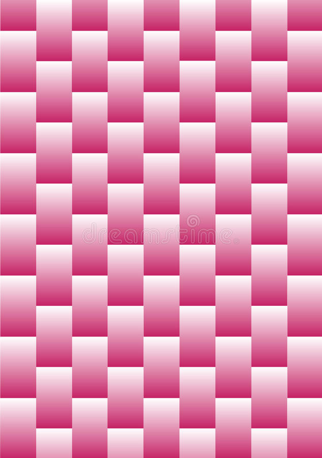 Download Abstract Pink Weave stock illustration. Illustration of geometric - 10941322