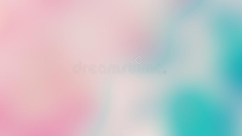 Abstract pink ,yellow and blue gradient soft color royalty free stock images