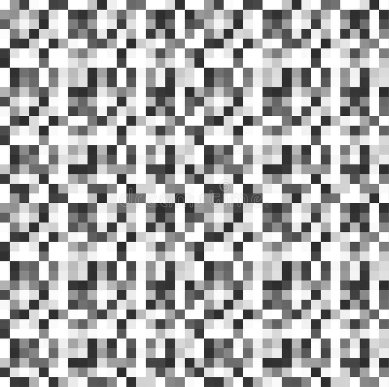 Abstract pixel background. Ill stock illustration
