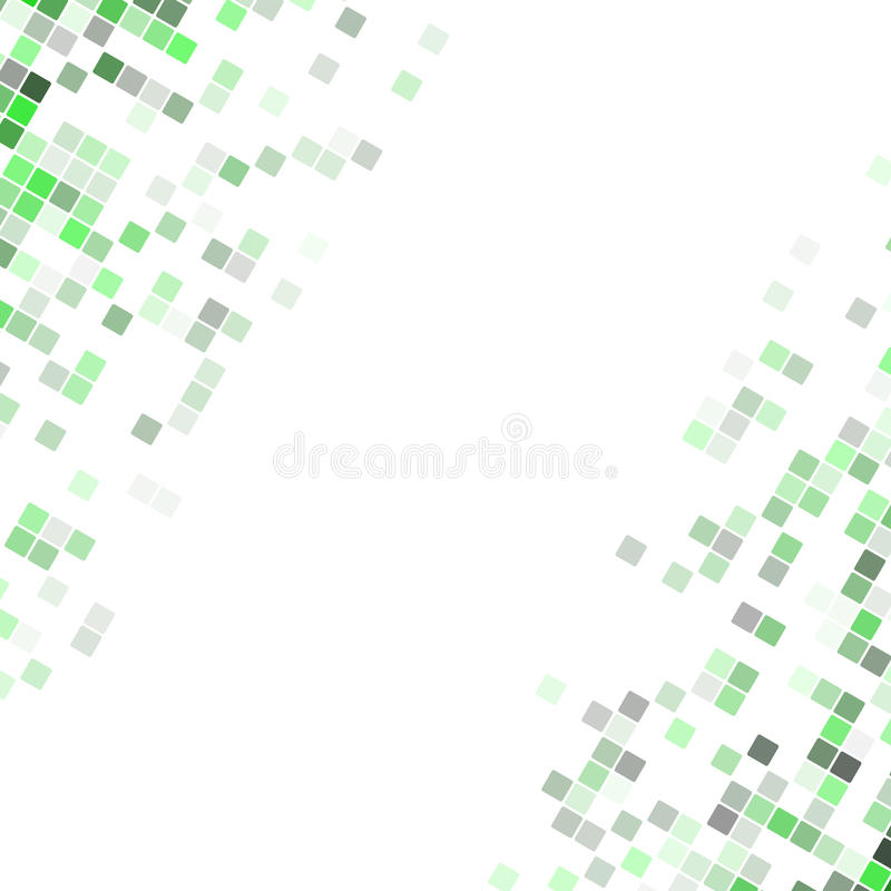 Abstract pixel square corner design background - vector illustration from rounded diagonal squares royalty free illustration
