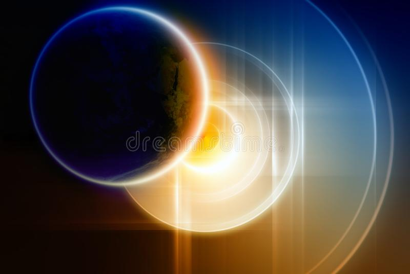 Download Abstract Planet Backup On Big Hard Disk Stock Illustration - Image: 18887465