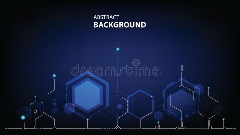Abstract technology polygon background. vector illustration vector illustration