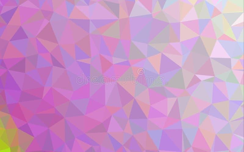 Abstract polygon pattern background. Purple abstract polygon pattern background wallpaper vector illustration