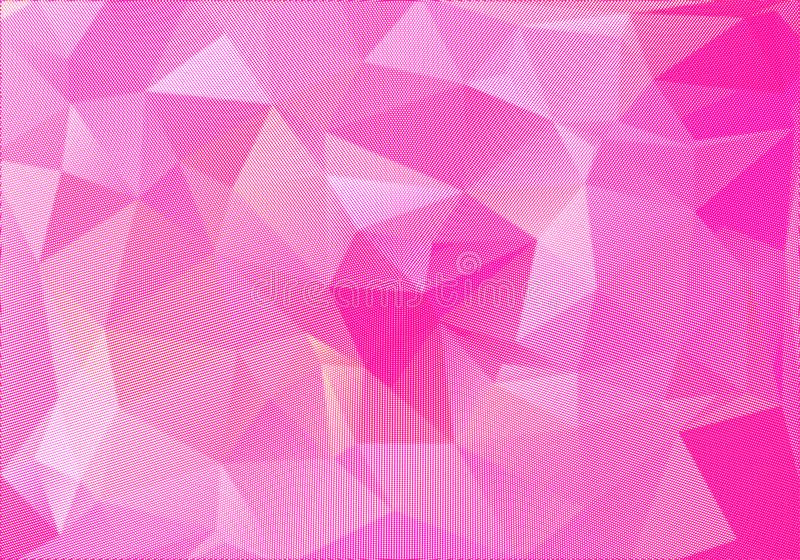 Abstract polygonal background. Futuristic style. Geometric colorful triangle texture stock illustration