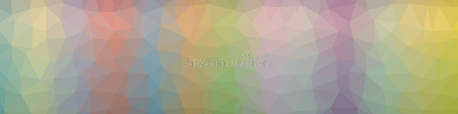 Abstract polygonal background royalty free illustration