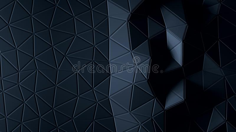 Abstract Polygonal Geometric background graphite color vector illustration